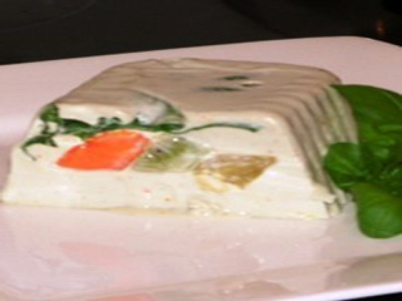 Blue Cheese and Fruit Terrine